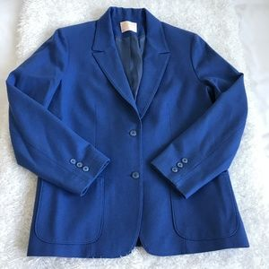 Pendleton Womens Size 14  Blue Business Blazer